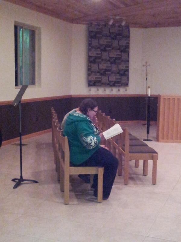 prayer in chapel