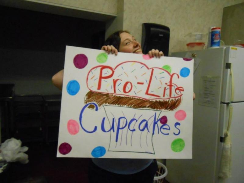 prolife cupcake